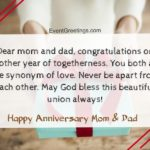 25th Anniversary Quotes For Parents Facebook