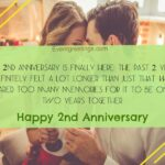 2nd Wedding Anniversary Quotes For Husband Pinterest