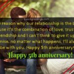 5th Anniversary Quotes For Girlfriend Pinterest