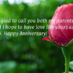 Anniversary Wishes To Parents From Daughter Tumblr