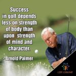 Arnold Palmer Quote Golf Is Deceptively Simple Twitter