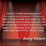 Awesome Quotes by Amy Grant about Christmas