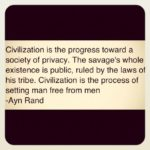 Ayn Rand Civilization Quotes