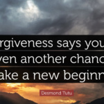 Best Quotes by Desmond Tutu about Forgiveness