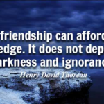Best Quotes by Henry David Thoreau about Knowledge