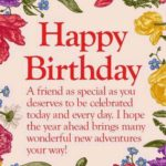 Birthday Wishes For A Special Friend Pinterest