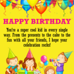 Birthday Wishes For Boy Facebook