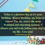 Birthday Wishes For Cousin Pinterest