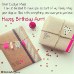 Birthday Wishes For Masi Facebook