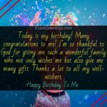 Birthday Wishes For Myself Facebook