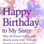Birthday Wishes Images For Sister Twitter