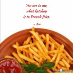 Caption For French Fries Facebook