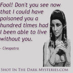 Cleopatra Quotes About Beauty Pinterest