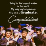 College Graduation Quotes For My Son Twitter