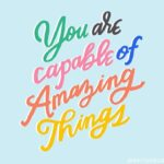 Colourful Positive Quotes