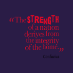 Confucius Quotes About Home