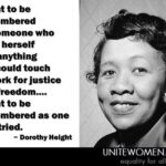 Dorothy Height Quotes Pinterest
