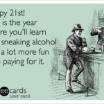 Funny 21st Birthday Captions Pinterest
