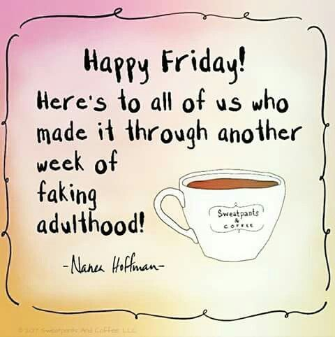 Funny Friday Coffee Quotes