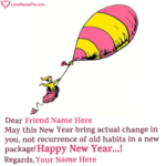 Funny New Year Wishes For Friends Pinterest