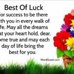 Good Luck Quotes For Success Facebook