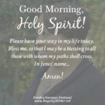 Good Morning Holy Spirit Quotes Facebook