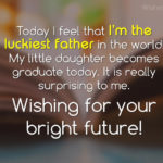 Graduation Wishes For Your Daughter Pinterest