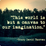Great Quotes by Henry David Thoreau about Imagination