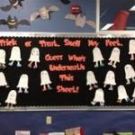 Halloween Bulletin Board Sayings