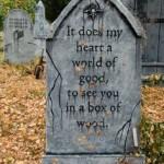 Halloween Tombstone Quotes