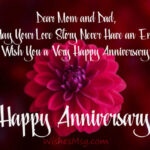 Happy Anniversary Wishes To Mom Dad Tumblr
