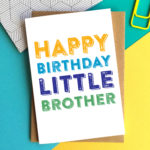 Happy Birthday Younger Brother Facebook
