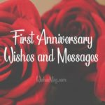 Happy First Anniversary Wishes Tumblr