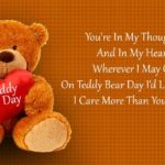 Happy Teddy Day Quotes Twitter