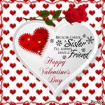 Happy Valentines Day Images Sister Pinterest