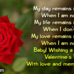 Happy Valentines Day Wishes For Girlfriend Facebook