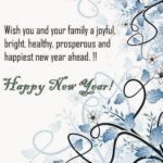 I Wish You And Your Family A Happy New Year Facebook