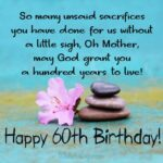 Inspirational 60th Birthday Quotes Facebook