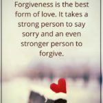 Love And Forgiveness Quotes