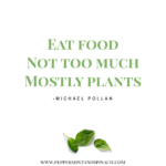Michael Pollan Eat Food Quote Pinterest