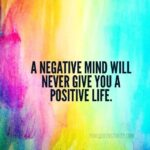 Positive And Negative Thoughts Quotes Facebook