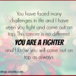 Positive Quotes For Someone With Cancer Twitter