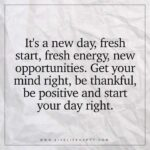 Positive Quotes To Start The Day Tumblr