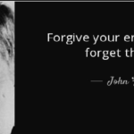 Quotes About Forgiveness by John F. Kennedy