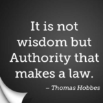 Quotes About Legal by Thomas Hobbes