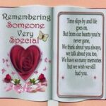 Quotes Of Remembering Someone Special