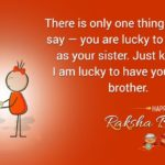 Raksha Bandhan Quotes For Brother In English With Images Pinterest