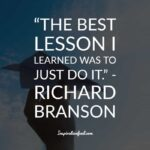 Richard Branson Quotes Just Do It