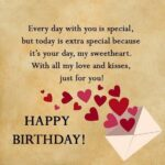 Romantic Birthday Wishes For Boyfriend With Love Pinterest