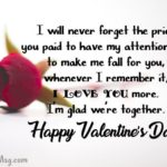 Romantic Valentine Messages For Her Facebook
